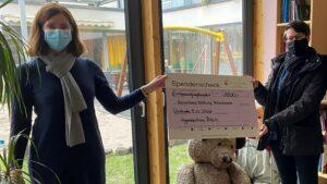 IBB spendet 1.500 € an Bärenherz Stiftung